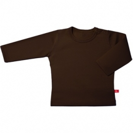 Tshirt lange mouw outlet choco