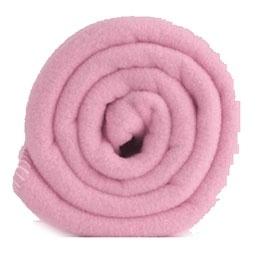 Outlet ledikantdeken 120x150 Polartec® fleece  Roze