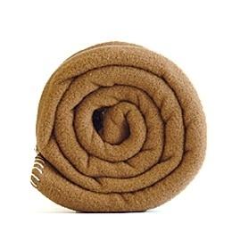 Outlet ledikantdeken 120x150 Polartec® fleece deken camel