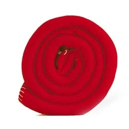 Outlet ledikantdeken 120x150 Polartec® fleece deken rood