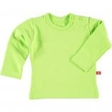 Baby sweat shirt met lange mouw lime