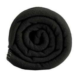 Outlet Kinderdeken Polartec® fleece baby 90x127cm zwart