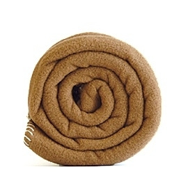 Outlet ledikantdeken 120x150 Polartec® fleece deken camel