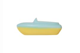 Zeepbootje Blauw Geel