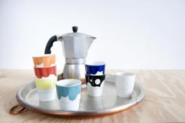 Espressokopje ´Useful new color´, rood