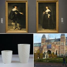 Rijksmuseum serie porselein Marten en Oopjen