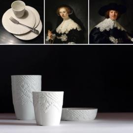 Gebaksbordje Rijksmuseum Marten en Oopjen