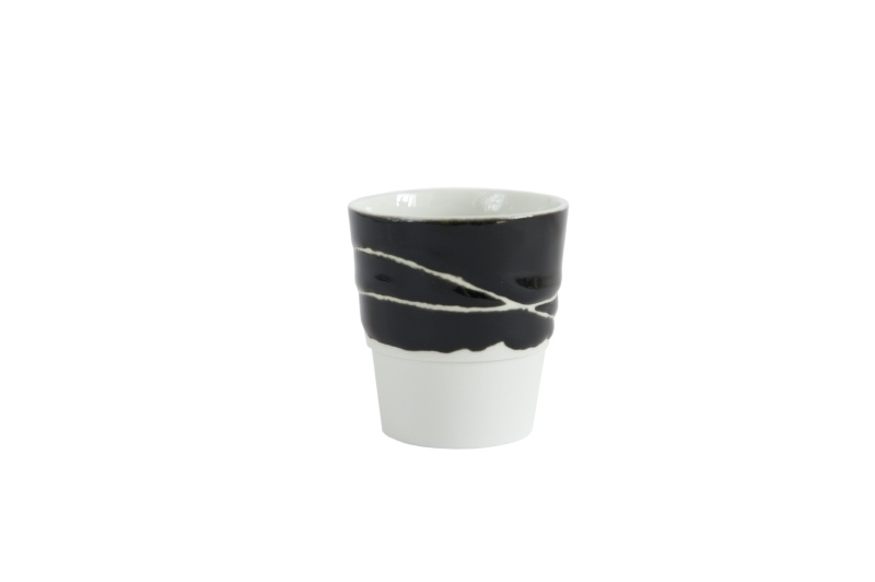 Espressokopje Common Material, zwart