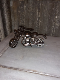 Industriele motorfiets - Harley Davidson - Junk art