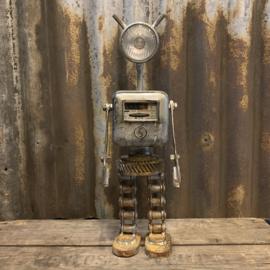 Robot Steampunk Junk Art