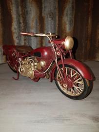 Motor Rood met liggende Cilinder