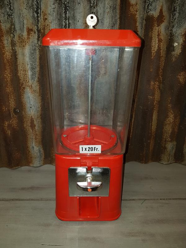 Kaugomballen automaat