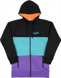 neff Softshell Daily shredder black-purple MT S