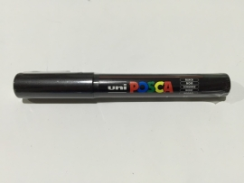 Posca PC-1M/ 0,7mm Verfstift Black