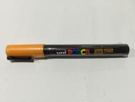 Posca PC-3M/ 1,3mm Verfstift Orange