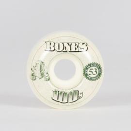 Bones 100's Wheels 53mm