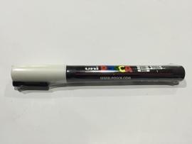 POSCA PC-3M/ 1,3mm Verfstift White