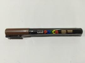 Posca PC-3M/ 1,3mm Verfstift Brown
