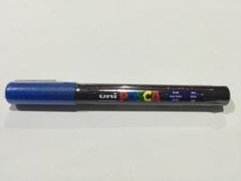 POSCA PC-3M/ 1,3mm Verfstift Glitter Blue