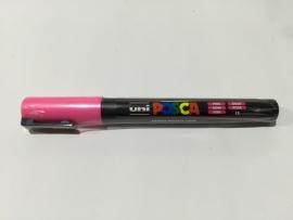 Posca PC-3M/ 1,3mm Verfstift Pink