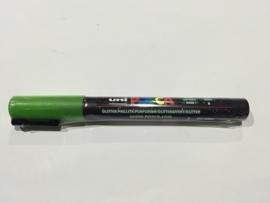 POSCA PC-3M/ 1,3mm Verfstift Glitter Green