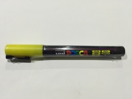 POSCA PC-3M/ 1,3mm Verfstift Glitter Yellow