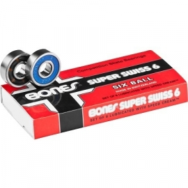 Bones Super 6 Swiss bearings