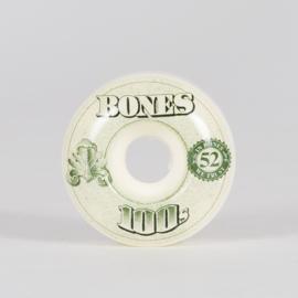 Bones 100's wheels 52mm