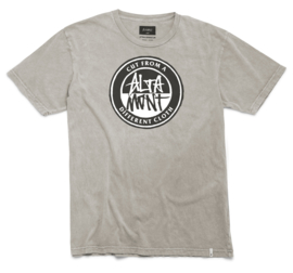Altamont Contrast Stacked (Natural) T shirt Size M