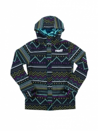 Neff Lush Softshell Jacket Bergman Black MT M