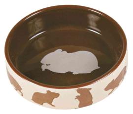 Keramische Voer/Waterbak Hamster