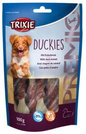 Hondensnacks Duckies 100gr
