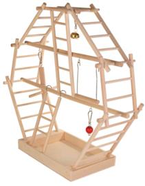 Houte ladder speelplaats
