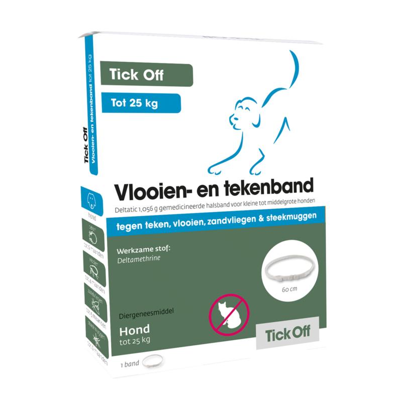 Tick Off Vlooien- en tekenband