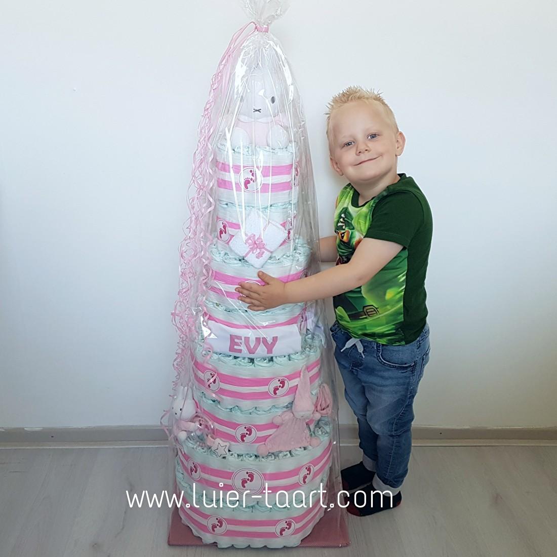 Mega Luieraart 125 cm Evy