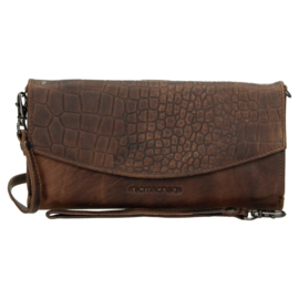 Clutch - wallet - tasje 'Everglades' donkerbruin