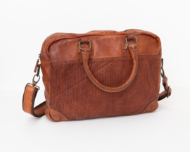 Bag2Bag laptop tas 'Tanana' cognac