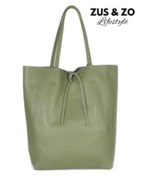 Shopper 'Lotte' dark Olive