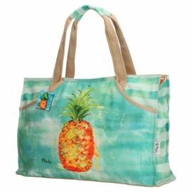 Strandtas 'Minty Pineapple'