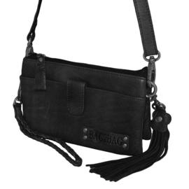 Clutch-tasje 'Dover' van Bag2Bag zwart