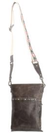 Crossbody bag 'New Navajo' grijs