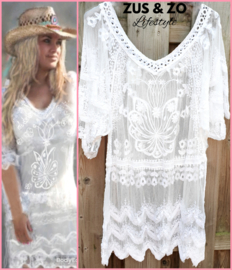 Tuniek 'Eivissa dream' white
