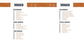 Tapas plank met receptenboek 'Lekker Burgerlijk'