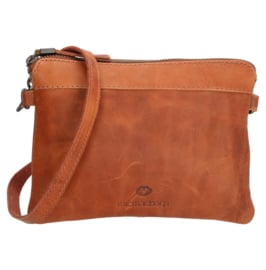 Micmacbags clutch - tasje 'Colorado' cognac