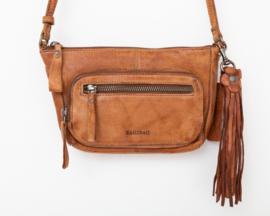 Bag2Bag schouder / heuptasje 'Melfort' cognac