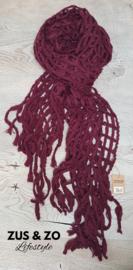 Sjaal 'Misty' Peren-rood