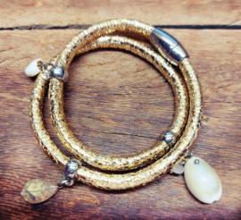Armband 'Golden shell'