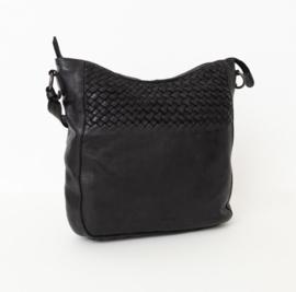 Bag2Bag schoudertas 'Lecce' zwart