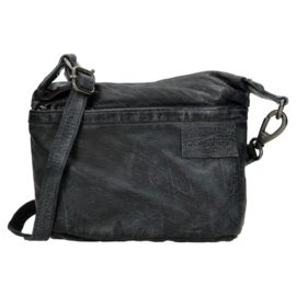 Shoulderbag Micmacbags 'Phoenix' Antraciet