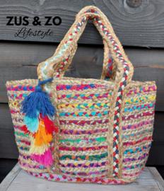 Strandtas 'Ibiza Beach colors'